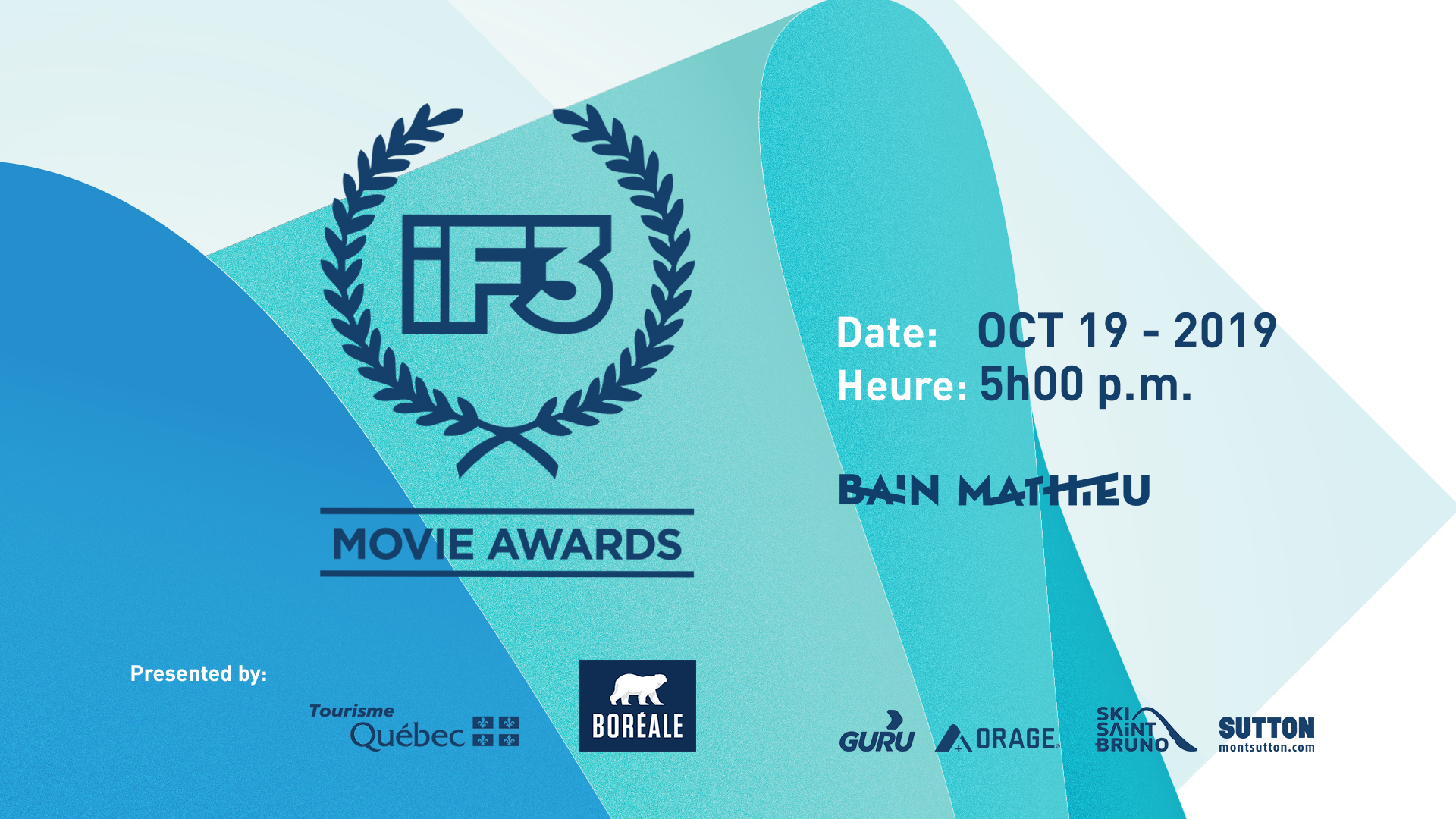 The official selection for the iF3 Movie Awards 2019!